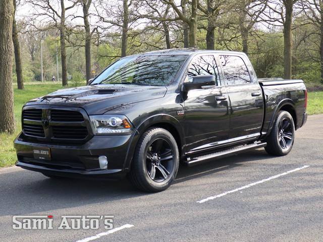 Dodge Ram 1500 | SPORT | Black Ops | Luchtvering | Full Options | 5.7 V8 Hemi | 4x4 | Crew Cab | Lage Catalogusprijs |