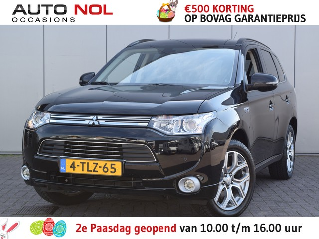 Mitsubishi Outlander 2.0 PHEV Instyle+ Inclusief prijs is ... Navi Leder Cruise Stoelverw Lm18'' Camera Pdc  Prijs is Excl Btw