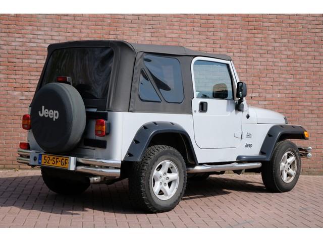 Jeep Wrangler 4.0i 177pk Aut. 4WD Sahara | 2e eigenaar