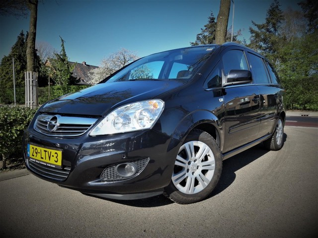 Opel Zafira 1.8 Cosmo 7 Zits Navi Clima Cruise Parkeersensor Dealer onderhouden Boekjes Nap