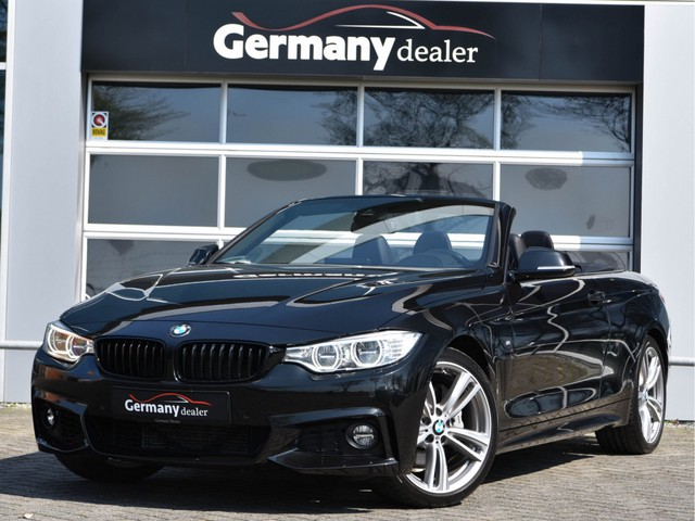 BMW 4 Serie Cabrio 435i xDrive M-Sport H K LED Stuur+Nekverw ACC Alarm Keyless 19inch Camera