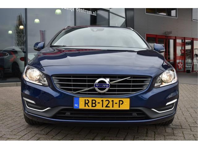 Volvo V60 2.0 D4 180PK Ocean Race Geartronic, Leder, Navigatie, 18 Inch lm Velgen, LED, Climate Control