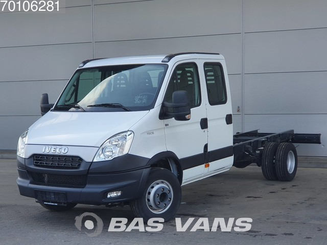 Iveco Daily 70C15 New 7 Seats Air conditioning Chassis cabin Airco Dubbel cabine