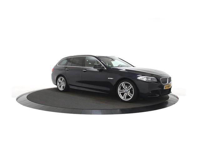 BMW 5 Serie 520 d Touring High Executive Automaat, Leer, Navigatie, Sportstoelen