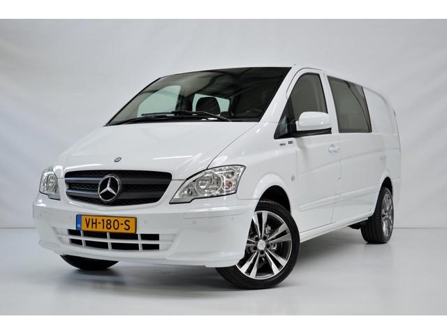 Mercedes-Benz Vito 110 CDI 320 Lang DC Dubbel Cabine 6-Persoons Nieuwstaat 1eEigenaar DealerOnderhouden