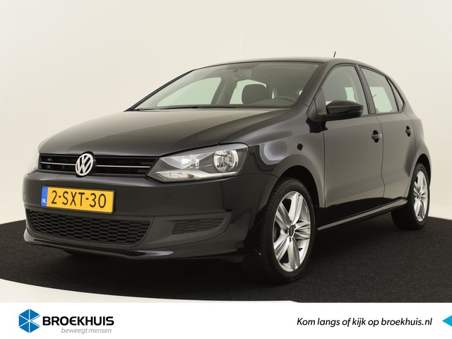Volkswagen Polo 1.2 TSI 90PK BlueMotion Comfortline Ed. | 100% DEALEROND. | TREKHAAK | 15'' LMV | AIRCO | ELEK. RAMEN V+A