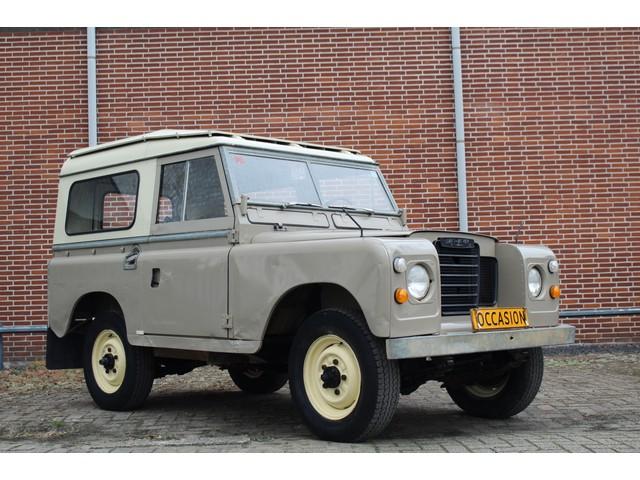 Land Rover Defender 88 Series III Wegenbelasting vrij! 4x4