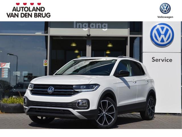 Volkswagen T-Cross 1.0 TSI 115pk Style | navigatie | keyless acces | spiegelpakket | privacy glass | LED | NIEUW!! | ACTIEPRIJS!! |