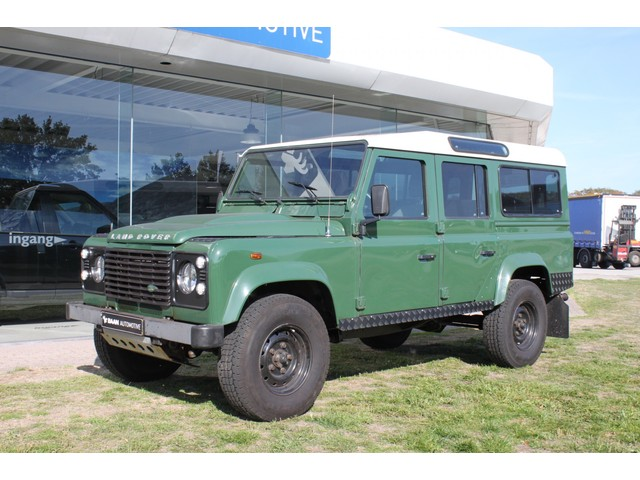 Land Rover Defender 2.5 110 TD5 COUNTY | Nette Defender | 9 pers. | Compleet harde carrosserie | Youngtimer