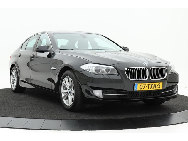 BMW 5 Serie 520i High Executive Aut. | Navigatie Professional | Xenon | Leer | Climate control