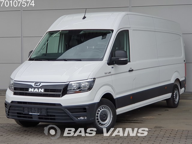 MAN TGE 3.180 2.0 TDI Airco 270° Deuren Lang Maxi L4H3 15m3 Airco