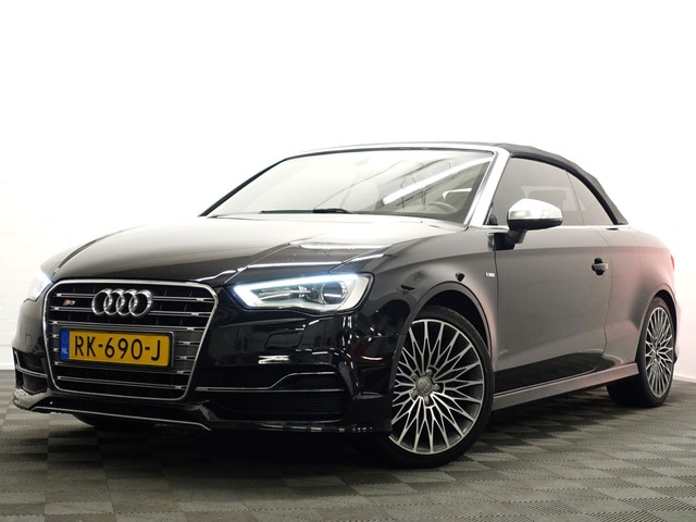 Audi S3 Cabriolet 2.0 TFSI S3 300pk Quattro S-Line -s-tronic, Akropovic, B&O , Full