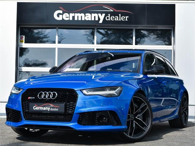 Audi RS6 Avant 4.0TFSI 605pk Performance B&O Ceramic Pano Nachtzicht Soft-Cl Alc-Hemel HUD ACC