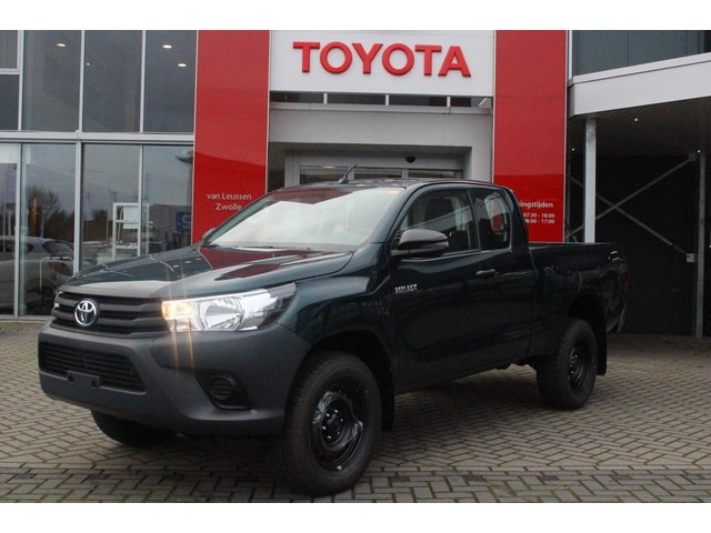 Toyota Hilux XTRA CAB 4-WD COOL COMFORT DONKERGROEN METALLIC