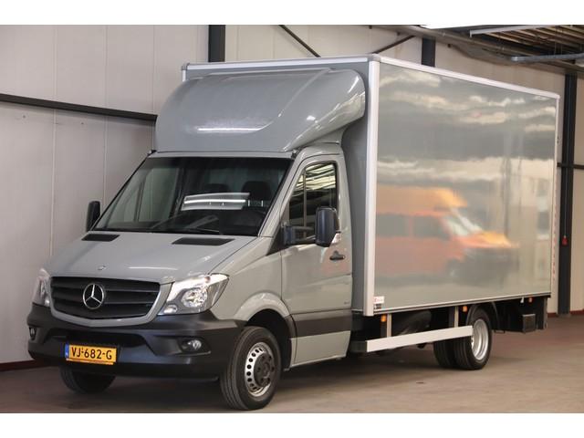 Mercedes-Benz Sprinter 516 BAKWAGEN EXTRA GROTE LAADKLEP ZIJDEUR CRUISE CONTROL MEUBELBAK