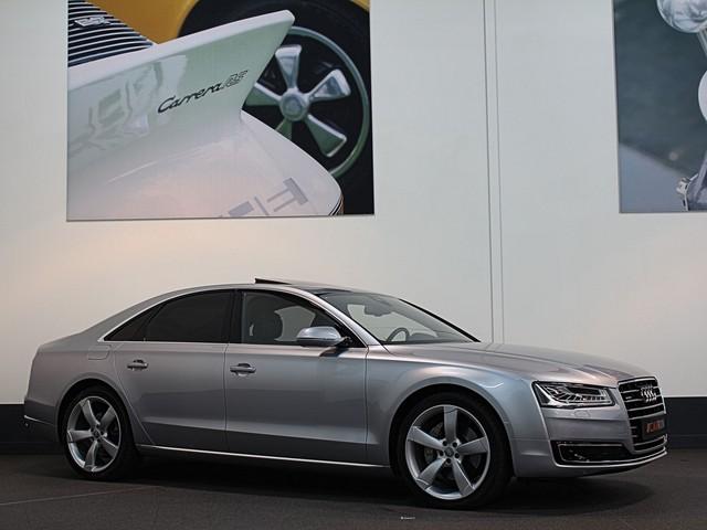 Audi A8 3.0 V6 Quattro Clean Diesel Euro6, Nw, Pr. 155000,=, MY 2015   Massage en vent. stoelen   Standkachel   Adaptieve Cruise   Bose