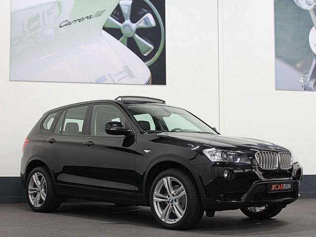 BMW X3 3.5i 306PK X-DRIVE   PANORAMA   NAVI PROF.   SPORTSTOELEN   LEDER   XENON   PDC V+A   MEM. SEATS