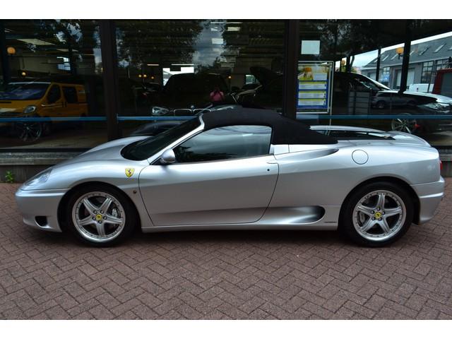 Ferrari 360 3.6 V8 Spider F1 CARBON  LEDER  EL.KAP  ECC  400 PK  2E EIGENAAR!