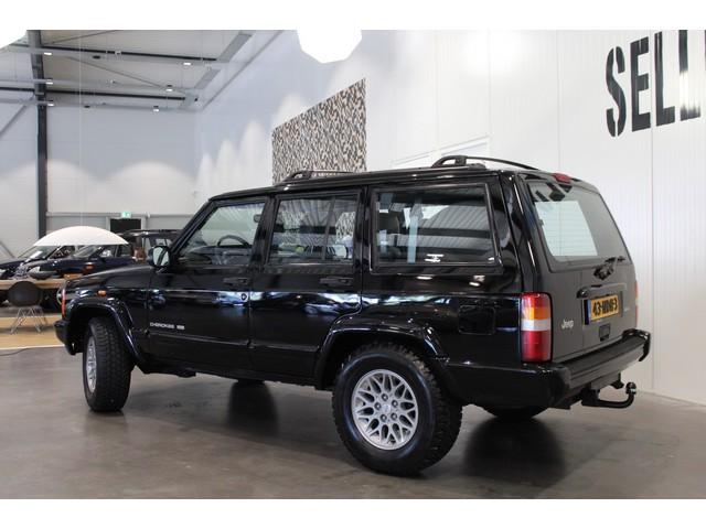 Jeep Cherokee 4.0i Limited | Automaat | Leder | LM velgen | Trekhaak | Verwarmde voorstoelen |