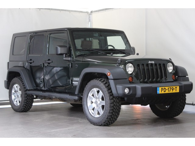 Jeep Wrangler 2.8CRD Unlimited Airco 4WD Leder   Stoelverw