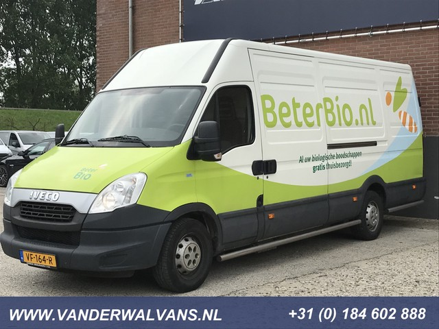 Iveco Daily 35S14GV 395 L3H2 CNG Natural Power AARDGAS, Camera, Cruise, 2x Schuifdeur