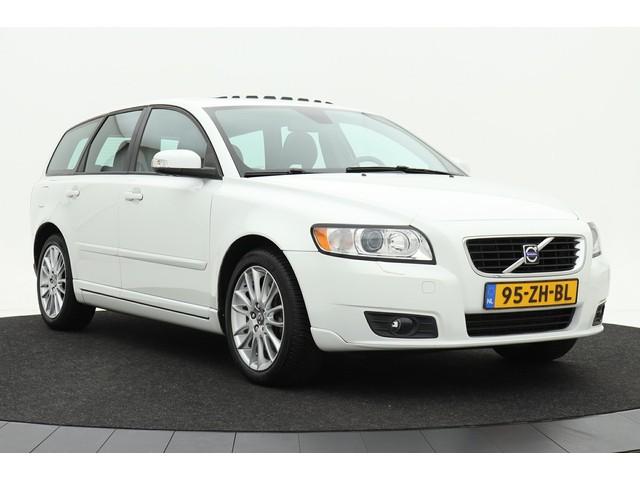 Volvo V50 2.5 T5 Summum   Navigatie   Xenon   Leder   Schuifdak   Climate control   Cruise control