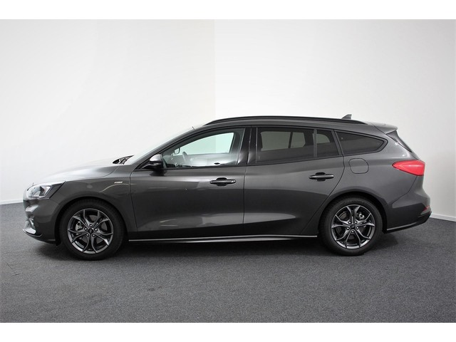 Ford Focus Wagon 1.0 EcoBoost ST-Line (Navigatie E.c.c. Airco Blue tooth achteruitrij Camera PDC achter Cruise control)