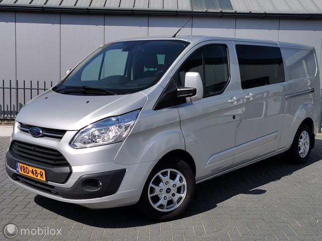 Ford Transit Custom 2.2 155pk DC Limited L2 2x schuifdeur