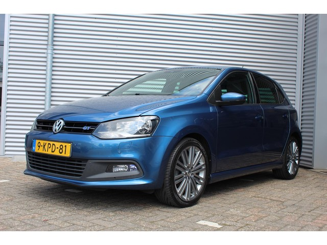 Volkswagen Polo 1.4 TSI 140PK DSG BlueGT [ NAVI+CRUISE+CLIMAAT+PDC ]