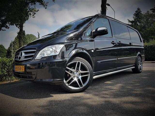 Mercedes-Benz Vito 122 CDI 343 DC Comfort Plus XL Dub Cabine V6 L+R Schuifdeur Automaat Xenon Leder