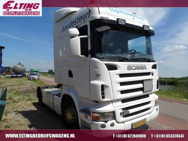 Scania R 420 LA4X2MNA 2 X SCANIA TREKKER