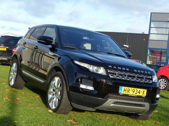 Land Rover Range Rover Evoque 2.0 SI 4WD PRESTIGE Automaat, Dodehoek detector, Achteruitrijcamera, Keyless entry, Panoramadak, Navigatie, Parkeersensoren, Cru