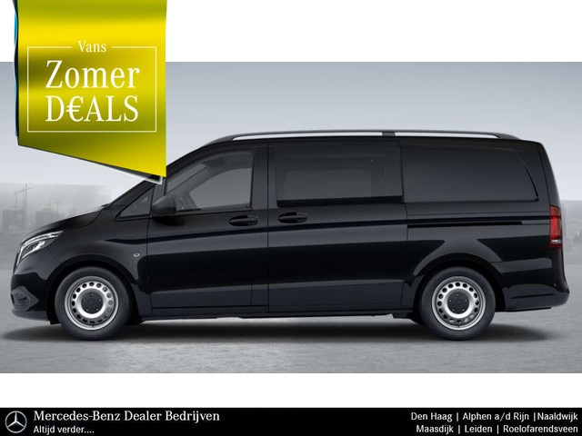 Mercedes-Benz Vito 119 CDI | Dubbele Cabine | Lang | Automaat | Navigatie | Climate Control | LED-Verlichting | All in-Prijs