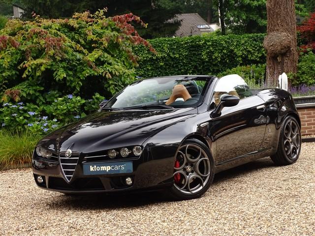 Alfa Romeo Spider 1.7 T Exclusive Xenon Bose Leer Elektrst stoelverw 1eEig 19inch
