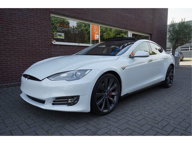 Tesla Model S P85+ Signature Performance T-Sportline FACELIFT! AUTOPILOT CARBON PANO