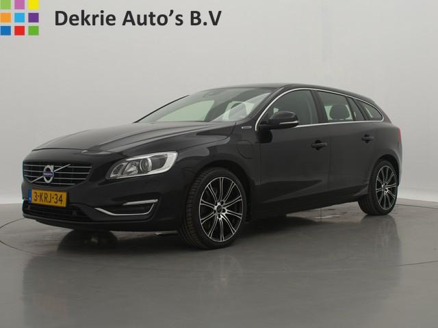 Volvo V60 2.4 D6 HYBRIDE AWD *€14.500,- INCL.* Plug-In Hybrid Summum   LEDER   NAVI   PDC   STANDKACHEL   CRUISE CTR.   XENON