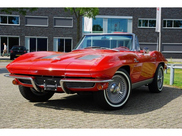 Chevrolet Corvette C2 Sting Ray Cabrio 1963 Fuel injection