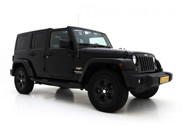 Jeep Wrangler Unlimited 2.8 CRD Sahara *SOFTTOP+LEDER+NAVI+PDC+ECC+CRUISE*