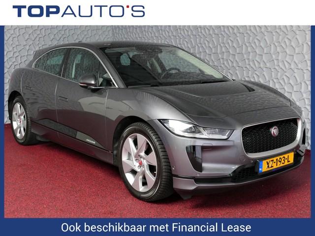 Jaguar I-PACE EV400 SE 4%! PRIJS EX BTW PANORAMA MATRIX LED NAVI WINDSOR LEDER HANDS-FREE KLEP 360 CAM