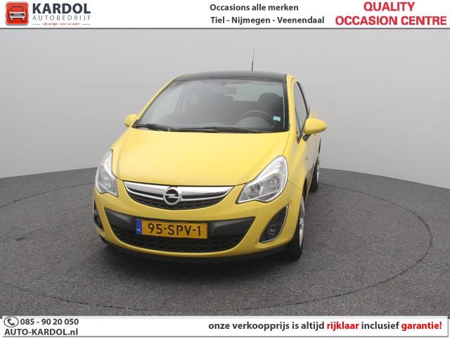 Opel Corsa 1.2 EcoFlex Connect Edition LPG   Rijklaarprijs   Blackpack