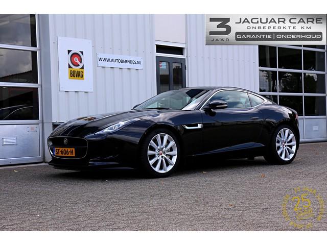 Jaguar F-Type 3.0 V6 Coupe*NL-Auto*Jaguar Care t m 05-2021!*Performance Seats Sportuitlaat Panodak Keyless entry+go Meridian Sound J-Blade Kop