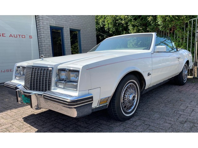 Buick RIVIERA CONVERTIBLE 5.0 V8 Automaat incl. historie!