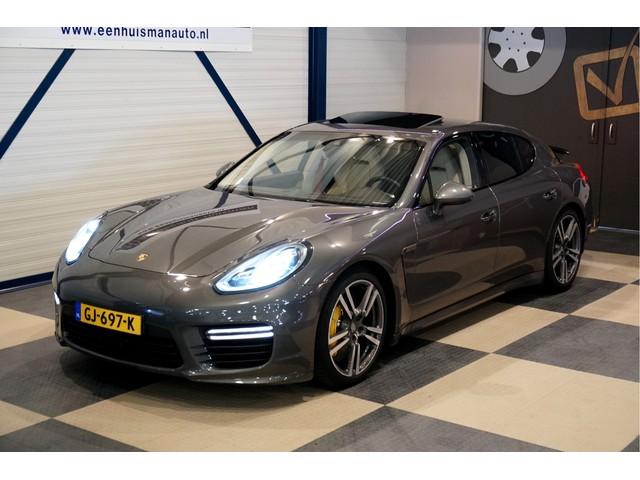 Porsche Panamera 4.8 Turbo 382kW 520pk PDK7 FULL OPTIONS ADAPT.CRUISE + BURMESTER + PCCB CERAMIC BRAKES + KEYLESS DRIVE + 360 GRADEN CAMERA + PDL