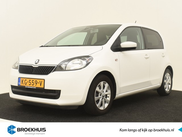 Skoda Citigo 1.0 60PK Greentech Fresh ! CRUISE | BTW | LMV 14'' | AIRCO | DEALERONDERHOUDEN