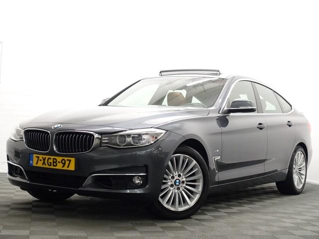 BMW 3 Serie Gran Turismo 320i X-Drive High Exe M-Sport 184pk Aut8, Pano, Leer, Navi Pro
