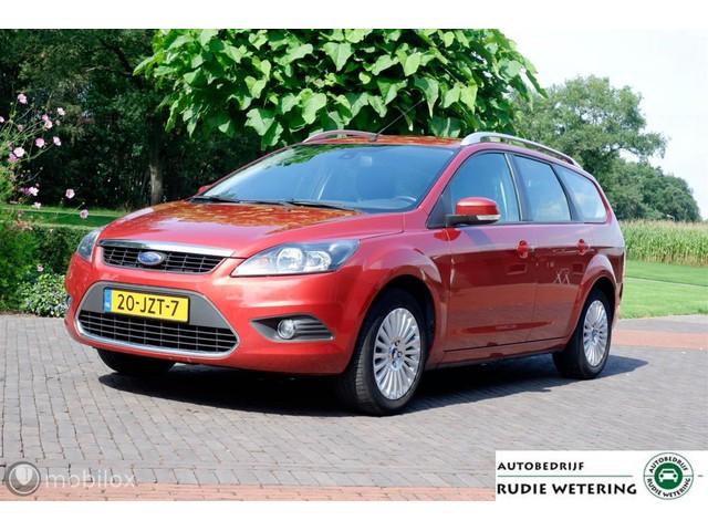 Ford Focus Wagon 1.8 125PK Limited ecc tel pdc trekhaak lmv16