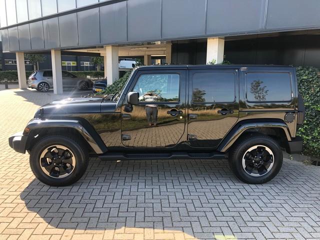 Jeep Wrangler 2.8 CRD Black Ed. II | Grijs kenteken   Excl BTW |
