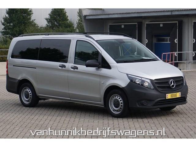Mercedes-Benz Vito 116 CDI Lang 9-Persoons Automaat Airco Cruise Navi Banken op rails!! NR. G5154