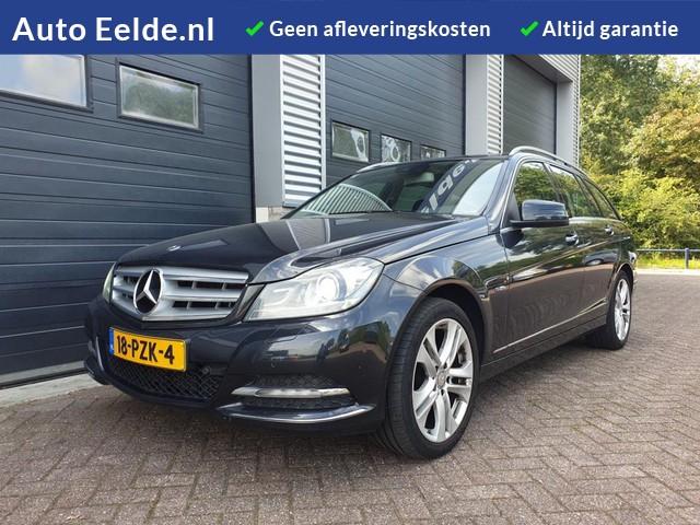 Mercedes-Benz C-Klasse Estate 180 Business Class Avantgarde Automaat + Facelift model + Xenon + Navigatie + Half leer!
