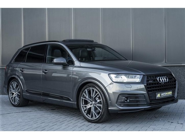 Audi Q7 3.0 TDI Quattro S-tronic 3xS-line 7.pers Panodak Matrix ACC Head-up Nachtcamera Bose Leder
